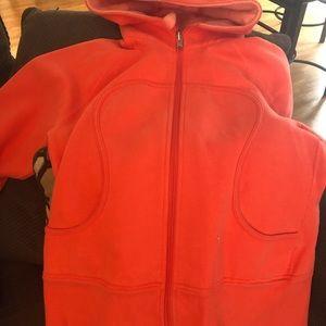 Lululemon Orange Hoodie